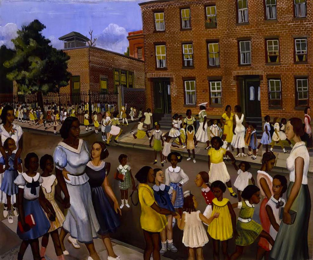 School's Out, 1936 Oil on canvas, 30 x 36 1/8 in. Smithsonian Museum of American Art