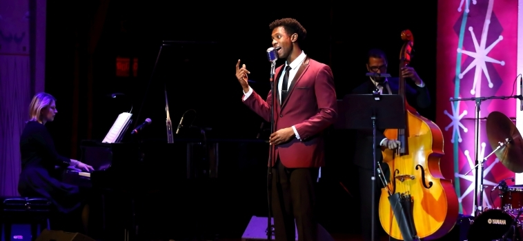 Evan Tyrone Martin brings the voice of Nat King Cole to life